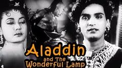 Aladdin and The Wonderful Lamp Full Movie | Meena Kumari | Mahipal | Old Classic Movie