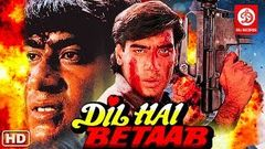 Dil Hai Betaab Full Action Movie { HD} Ajay Devgn | Pratibha Sinha | Kader Khan | Hindi Action Movie