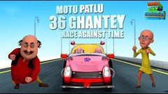 36 Ghante Race Against Time - Motu Patlu | Most popular Movies For Kids | Movie | WowKidz Movies