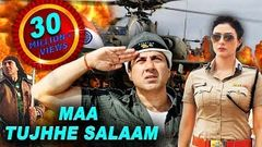 Maa Tujhhe Salaam Full Action Hindi Movie Superhit Bollywood Movie