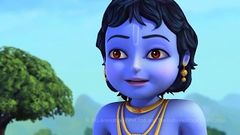 Little Krishna - Brave Warrior (Hindi) | Cartoon Movie