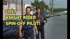 "The ""Lost"" Knight Rider Spin - off Pilot ""Code of Vengeance"" Full Movie 1985"