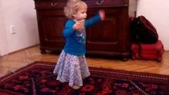 1 year old dancing to Bollywood movie tune Kabhie Kabhie mp4
