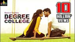 Degree College Latest Full Movie | New Full Length Movies 2020 | Varun, Sri Divya | Sri Balaji Video