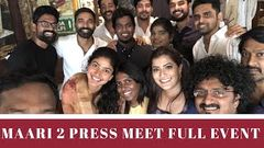 Maari 2 Latest Tamil Movie Dhanush Balaji Mohan Yuvan Shankar Raja Full Movie Promotional Event