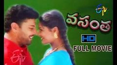 Vasantha | 1998 Telugu HD Full Movie | Prudhvi | Rasi | ETV Cinema