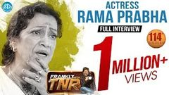 Actress Rama Prabha Exclusive Interview   Frankly With TNR 114   Talking Movies