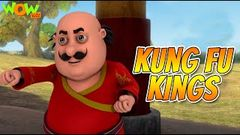 MOTU PATLU movies for KIDS | Kung Fu Kings | Full Movie | Wow Kidz