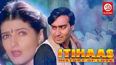 Itihaas - Bollywood Action Movies | Ajay Devgan, Twinkle Khanna & Amrish puri | HD Action Movie
