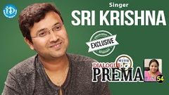 Singer Sri Krishna Exclusive Interview Dialogue With Prema Celebration Of Life 54