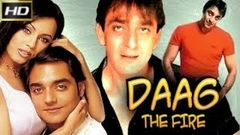 Daag The Fire 1999 - Action Movie | Sanjay Dutt, Chandrachur Singh, Raj Babbar, Deepak Shirke