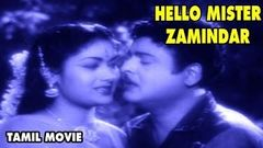 Hello Mister Zamindar - Tamil Full Movie | MR Radha | Gemini Ganesan | Savithiri