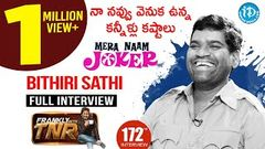 Bithiri Sathi Exclusive Interview || Frankly With TNR 172 | Talking Movies With iDream