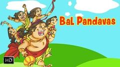 Bal Pandavas - The Birth & Childhood Of The Five Warriors - Mahabharat The Epic - Stories for Kids
