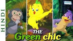 The Green Chic Papa Tum Kahan Ho Hindi - Cartoon Movie for Children - HD