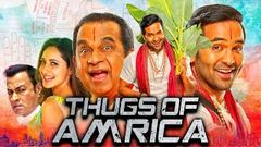Thugs Of Amrica - Vishnu Manchu Comedy Action Hindi Dubbed Movie | Brahmanandam