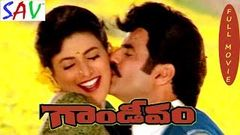 Balakrishna Hit Telugu Movie Gandeevam | గాండీవం | Roja, Nageswara Rao