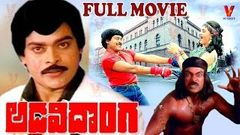 ADAVI DONGA | TELUGU FULL MOVIE | CHIRANJEEVI | RADHA | V9 VIDEOS