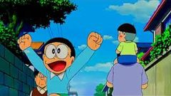 Doraemon Telugu Movie : Doraemon Nobita Little Space War KD Cartoons