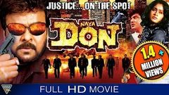 Naya Don Gang Leader Hindi Dubbed Full Length Movie | Chiranjeevi | Eagle Hindi Movies