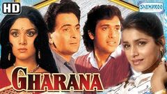 Gharana (1989) (HD & Eng Subs) - Rishi Kapoor | Govinda | Meenakshi Sheshadri | Neelam - Hindi Movie