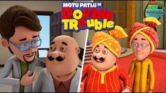 Motu Patlu In Double Trouble - Full Movie | Animated Movies | Wow Kidz Movies