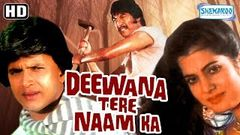 Deewana Tere Naam Ka HD - Mithun Chakraborty, Vijayeta Pandit - Old Hindi Movie - With Eng Subtitles