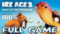 Ice Age 3 Dawn of the Dinosaurs Full Movie Game English