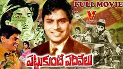 PATTUKUNTE PADHIVELU | TELUGU FULL MOVIE | CHALAM | GUMMADI | GEETHANJALI | V9 VIDEOS