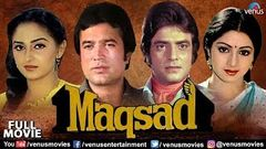 Maqsad Full Movie | Hindi Movies | Rajesh Khanna | Sridevi | Jeetendra |Latest Bollywood Full Movies