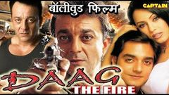 Daag The Fire Full Movie | 2020 Sanjay Dutt, Mahima Chaudhry | Bollywood Action Movies