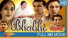 Bhabhi 1957 Old Hindi Full Movie | Balraj Sahni, Nanda, Pandari Bai | Classic Bollywood Full Movies
