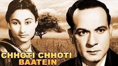 Chhoti Chhoti Baatein 1969 Hindi Full Movie | Krishan Dhawan | Leela Mishra | Hindi Classic Movies