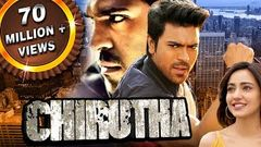 Chirutha Telugu Hindi Dubbed Full Movie | Ram Charan Neha Sharma Prakash Raj