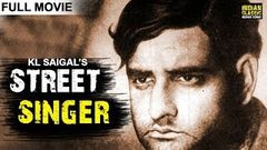 Street Singer (1938) Full Movie - K. L. Saigal | Old Hindi Movie | Classic Bollywood Movies