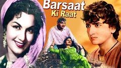 Barsaat Ki Raat - Madhubala, Bharat Bhushan - Romantic Movie - B&W