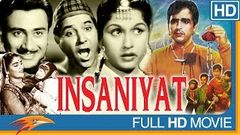 Insaniyat Hindi Classical Full Movie | Dev Anand, Dilip Kumar, Bina Rai | Bollywood Old Full Movies