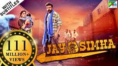 Jay Simha (2019) New Released Action Hindi Dubbed Movie | Nandamuri Balakrishna Nayanthara