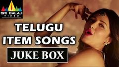 Telugu Hit Songs | Latest Item Songs Jukebox | Hit Video Songs Back to Back | Sri Balaji Video