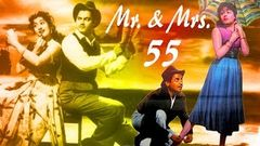 Mr & Mrs 55 {HD} - Guru Dutt - Madhubala - Johnny Walker - Comedy Movies
