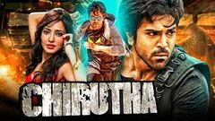Chirutha , , south indian movie hindi dubbed, , ( Ram Charan) goldmines action movie New released movie
