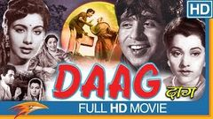 Daag (1952 film) Hindi Old Full Movie | Dilip Kumar, Nimmi, Usha Kiran | Bollywood Old Full Movies