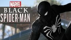 Spider - Man PS4 - Black Spiderman vs Black Cat Walkthrough | Superhero FXL 4K Gameplay