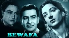 Bewafa | Romantic Classic Hindi Movie | Triangular Love | Nargis | Raj Kapoor | Ashok Kumar | 1952