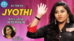 Actress Jyothi Exclusive Interview Talking Movies With iDream 283