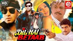 Dil Hai Betaab दिल है बेताब Action Movies | Ajay Devgn | Pratibha Sinha | Kadar Khan | Hindi Movies