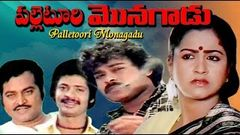Palletoori Monagadu Telugu Full Length Movie | Chiranjeevi Poornima | Super Hit Old Telugu Movies