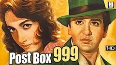 Post Box 999 - Sunil Dutt, Shakila - Thriller Movie B&W - HD