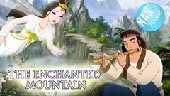 ENCHANTED MOUNTAIN full movie for kids | A WOODMAN AND A FAIRY cartoon | fairy tale for children