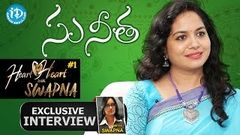 Singer Sunitha Upadrashta Exclusive Interview Heart To Heart With Swapna 1